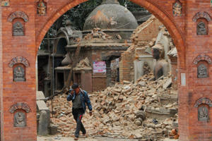 Fresh tremors were felt in Nepal and parts of India on April 26, 2015, following yesterday's massive earthquake. The aftershock, which was recorded to be 6.7 on the Richter scale, was the most powerful since the quake. It also triggered a fresh avalanche on Mount Everest. Click through to find out the latest developments.