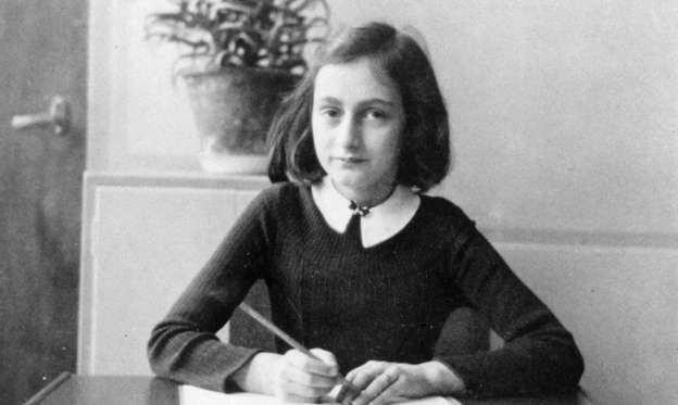 Slide 1 of 17: Anne Frank was a German-Jewish girl who died at the Bergen-Belsen concentration camp in March 1945. She became famous around the world when her diary, which chronicles her life in hiding during the Holocaust, was published. Click through to read about her remarkable life as we commemorate the 70th anniversary of her death.