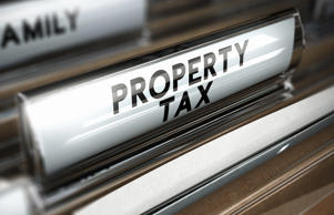 Property tax paperwork