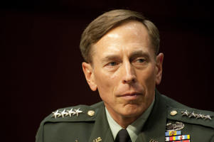 Former CIA director and U.S. Army General David Petraeus
