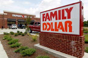 This Tuesday, Aug. 19, 2014 photo shows the Family Dollar store in Ridgeland, Miss.