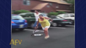 Skateboard Scooter Slam