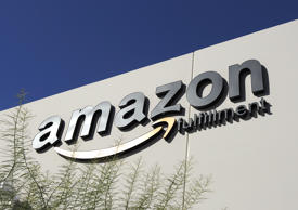 Amazon is a top holding of Fidelity OTC Portfolio. Ross D. Franklin/AP
