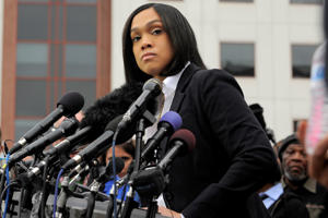 Baltimore State Attorney Marilyn Mosby. Lloyd Fox/Baltimore Sun/TNS via Getty Images