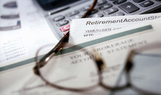 Paperwork for retirement accounts