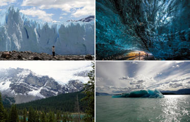 Mind-meltingly beautiful glaciers