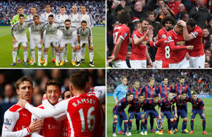 Forbes' richest football teams of 2015