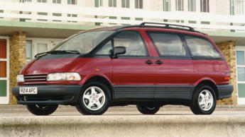 The mid-engined, first-generation Toyota Previa was pretty groundbreaking. But n...