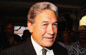 Winston Peters, MP for Northland.
