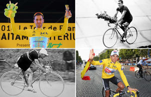 Yellow jerseys: Tour de France winners
