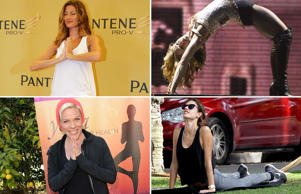 Celebs who swear by yoga