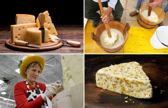 Διαφάνεια 1 από 21: 20 things you didn't know about cheese