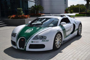 Feb. 6, 2014 - NATIONAL PICTURES .Dubai Police have today launched their new 'Super Patrol Car' which is a Bugatti