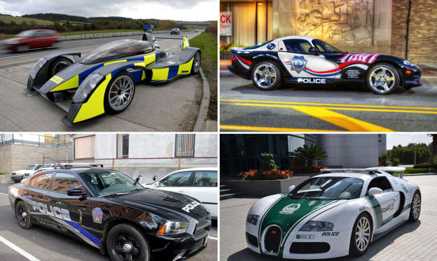 幻灯片 26 - 1: High-speed chase: The world's hottest police cars