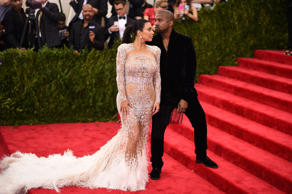 NEW YORK, NY - MAY 04: Kim Kardashian and Kanye West attend the 'China: Through The Looking Glass' Costume Institute Benefit Gala at the Metropolitan Museum of Art on May 4, 2015 in New York City. (Photo by Andrew H. Walker/Getty Images for Variety)
