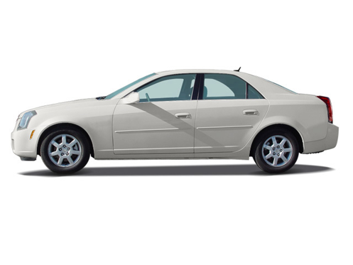 Slide 1 of 10: 2005 Cadillac CTS
