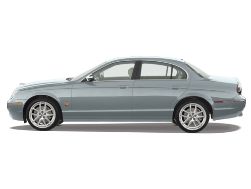 Slide 1 of 30: 2008 Jaguar S-Type