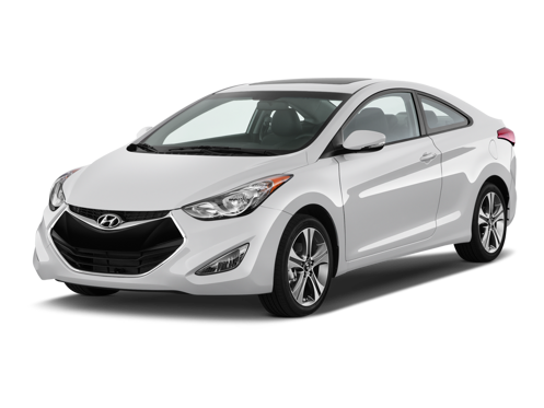 Slide 1 of 12: 2014 Hyundai Elantra Coupe