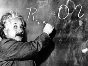 Albert Einstein developed the general theory of relativity.