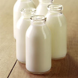 Group of Milk Bottles