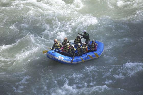 whitewater rafting rishikesh
