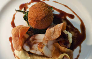 Plas Bodegroes monkfish oxcheek