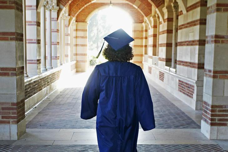 A college graduate.