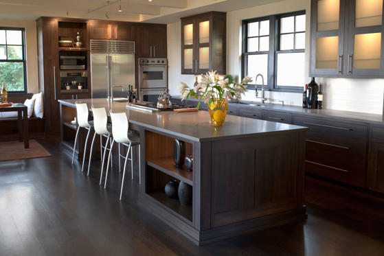 Slide 1 of 8: Contemporary kitchen. Ryan McVay/Getty Images