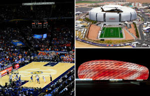 Sci-fi stadia: Cutting-edge sports arena technology