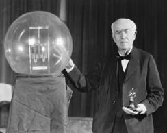 Thomas Alva Edison (Feb. 11, 1847 – October 18, 1931)