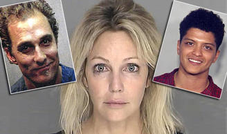 Why were these celebs arrested?