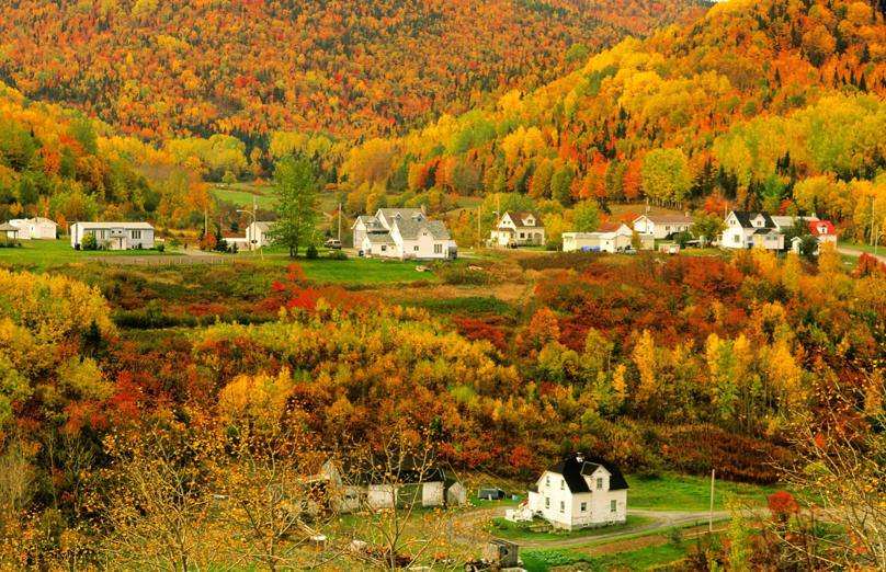 Gaspé Peninsula, Quebec, Canada