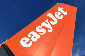 An EasyJet Airbus is pictured on July 3, 2015.