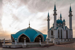Kul Sharif Mosque in the Russian city of Kazan