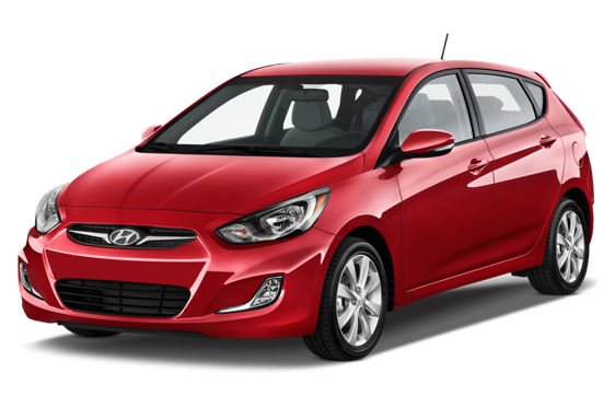 Slide 1 of 14: 2015 Hyundai Accent Hatchback