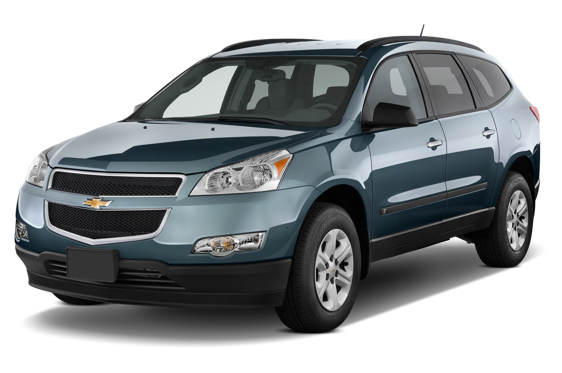 Slide 1 of 14: 2010 Chevrolet Traverse