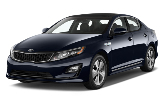 Slide 1 of 14: 2014 Kia Optima Hybrid