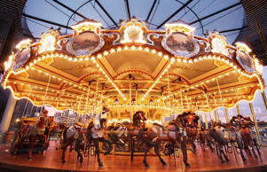 Jane's Carousel in Brooklyn, N.Y. Mark Lennihan/AP