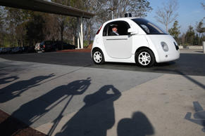 Google self-driving car. Justin Sullivan/Getty Images