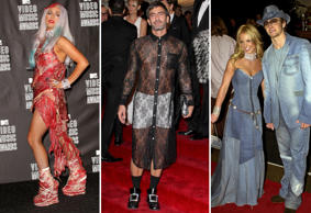 Lady Gaga, Marc Jacobs, and Britney Spears and Justin Timberlake