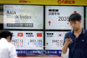 China's Stocks Fall to Three-Week Low on Economic Growth Concern