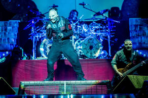 Slipknot performs at the Download Festival in Donnington Park, Britain, on June 14, 2015