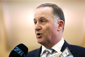 File photo of New Zealand Prime Minister John Key.