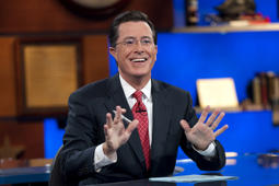 File photo of Stephen Colbert on 'The Colbert Report'