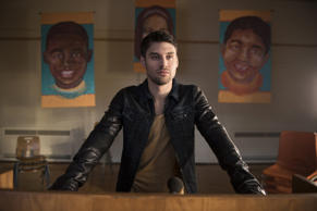 "HEROES REBORN -- ""Awakening"" Episode 101 -- Pictured: Ryan Guzman as Carlos Gutierrez"
