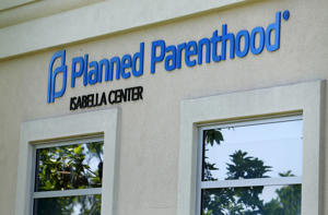 A Planned Parenthood clinic in VIsta, California, August 3, 2015.