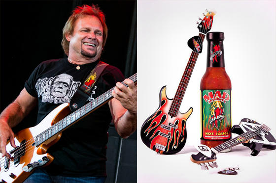 STERLING HEIGHTS, MI - JULY 23:  Michael Anthony performs in concert in support of his Four Decades of Rock Tour at Freedom Hill Amphitheater on July 23, 2014 in Sterling Heights, Michigan.  (Photo by Scott Legato/Getty Images)