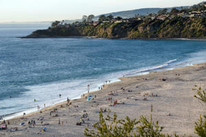 Dana Point beach, California.