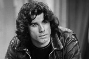 "John Travolta as Vinnie Barbarino in ""Welcome Back, Kotter."""