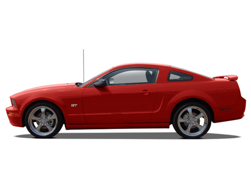 Slide 1 of 10: 2007 Ford Mustang